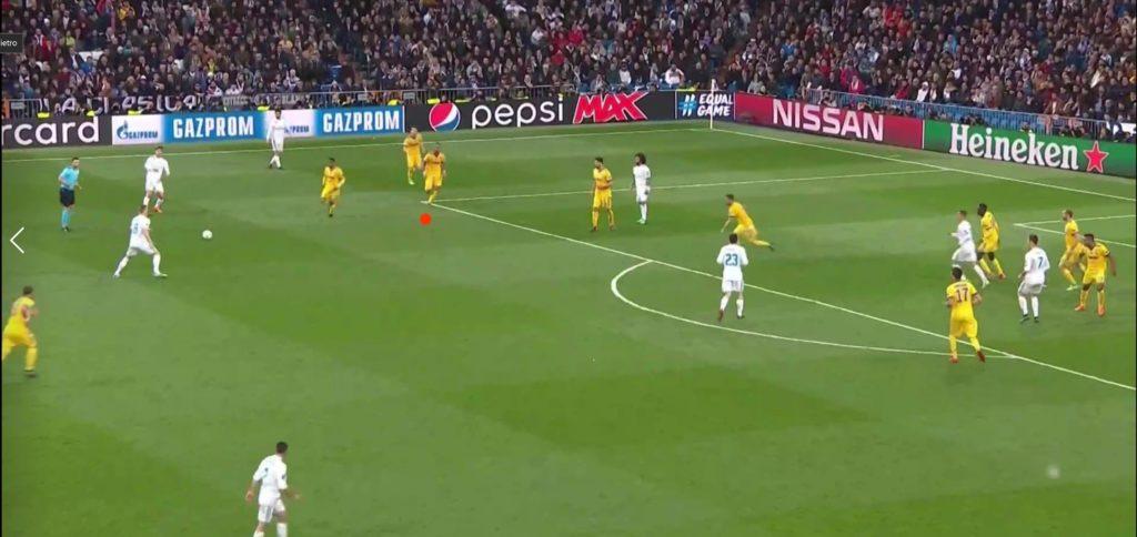 Real Madrid - Juve Figura4 Azione Benatia