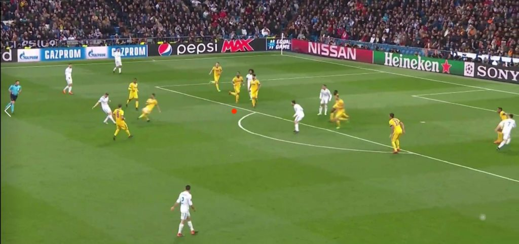 Real Madrid - Juve Figura5 Azione Benatia