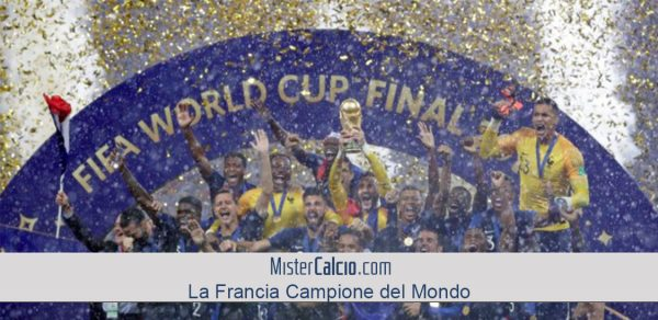 La Francia Campione del Mondo