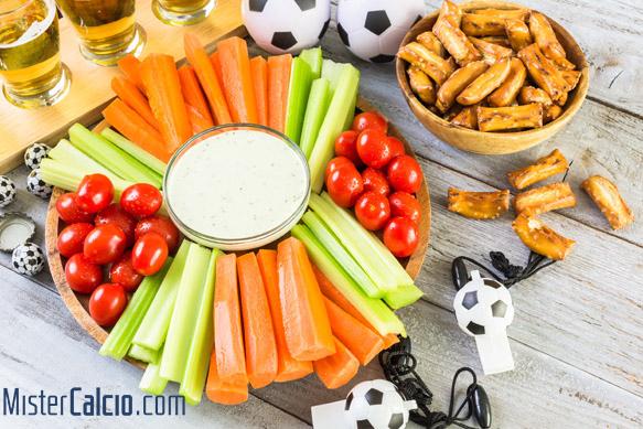 Cosa mangiare prima di una partita di calcio
