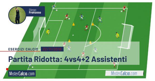 Partita Ridotta 4c4+2 Assistenti