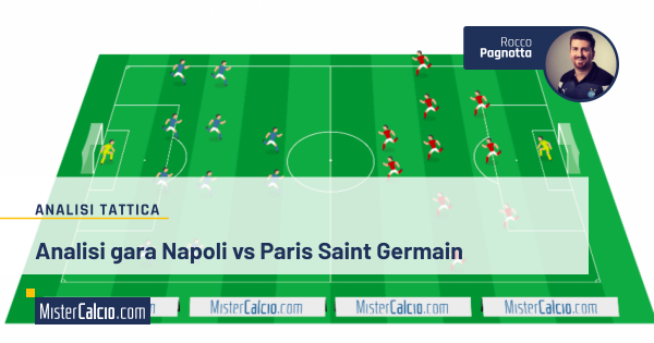 Analisi tattica napoli - paris san germain