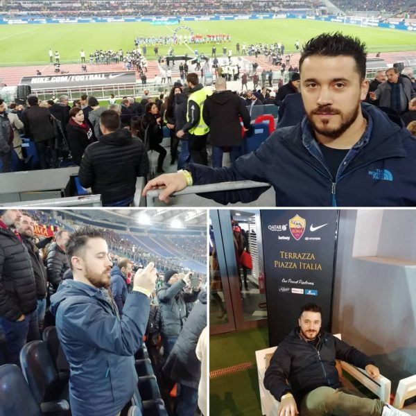 Roma - Inter vissuto con mister Luigi Evangelisti