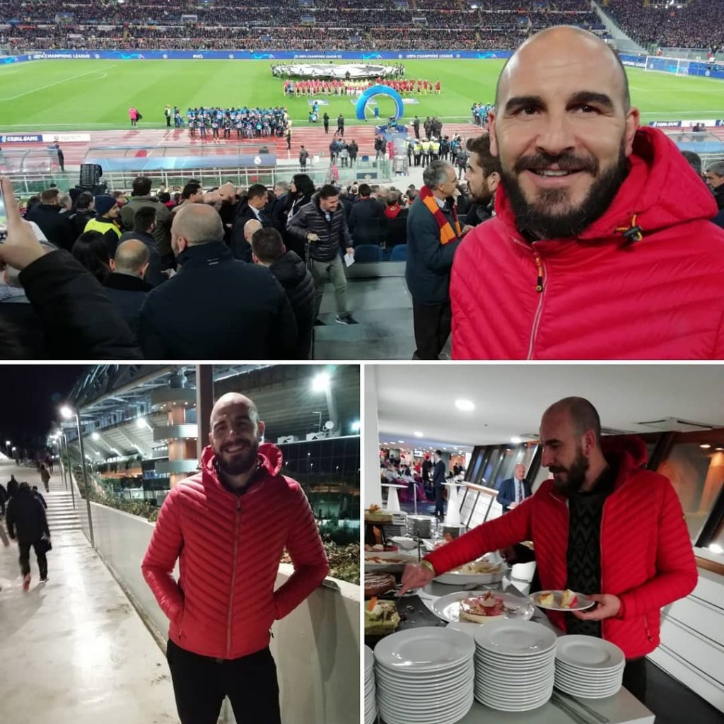 Match Experience - Roma vs Real Madrid