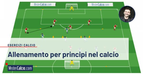 Allenamento per principi nel calcio