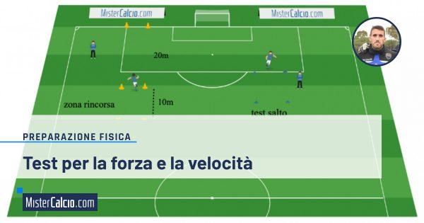 Test per la forza e la velocità nel calcio