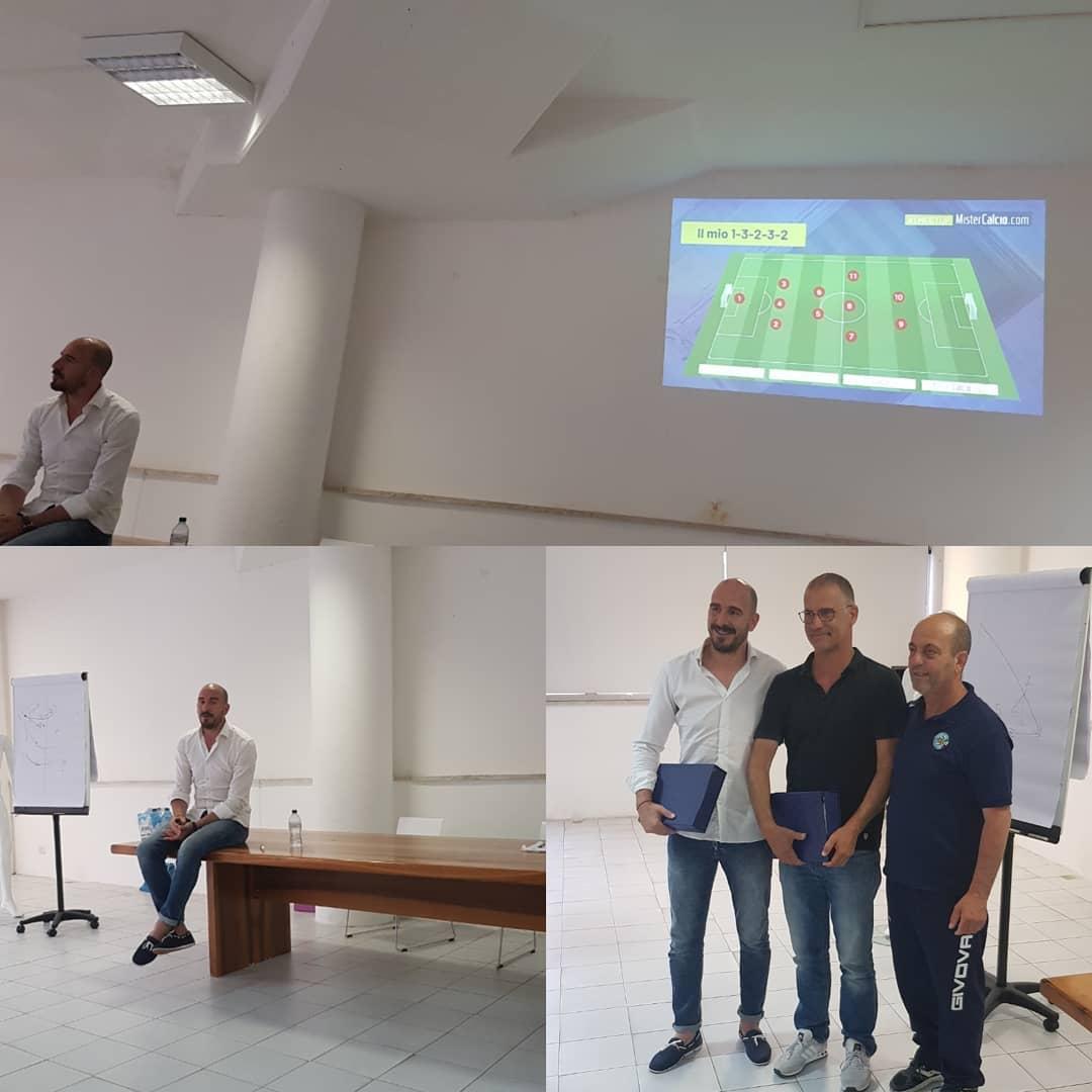 Evento AIAC con Mister Sanderra e Mister De Simone