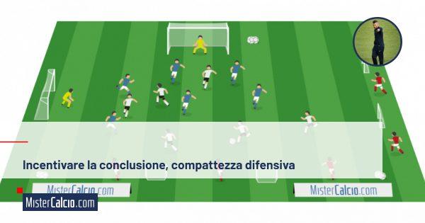 Incentivare la conclusione e compattezza difensiva