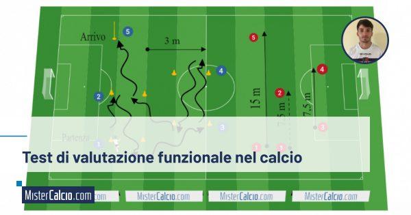 Test di valutazione funzionale nel calcio
