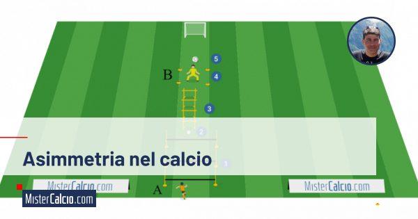 Asimmetria nel calcio