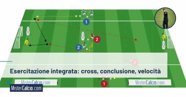 Esercitazione integrata - cross - conclusione - velocità