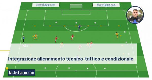 Integrazione allenamento con gioco di posizione
