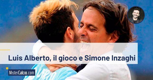 Il gioco di Inzaghi e Luis Alberto