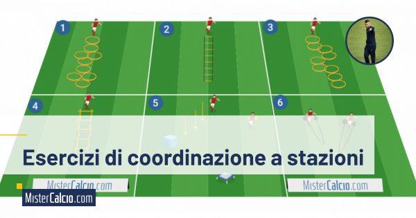 Esercizi coordinazione a stazioni