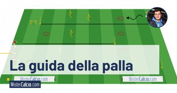 Circuito tecnico per la guida della palla AC. Milan