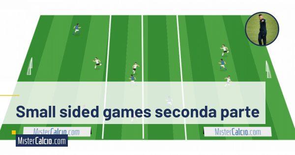Small sided games, utilizzo terzo uomo e conduco per generare superiorità