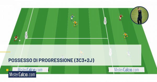 possesso progressione 3contro3+2j